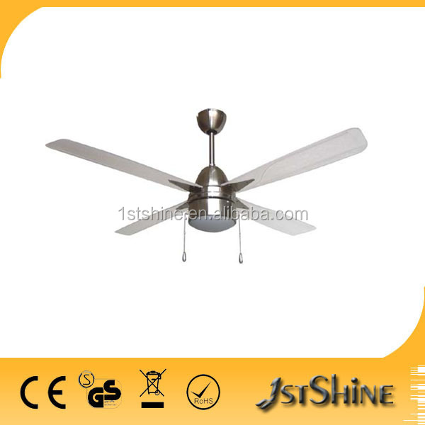 56 inch 4 metal blades electrical ceiling fan with light