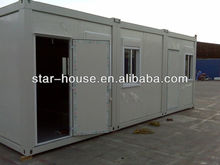 ISO9001:2008 certificated high quality and nice design prefabricated house