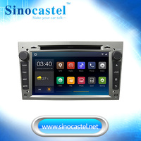 Silver color Android 4.4.4 car audio multimedia system for Opel