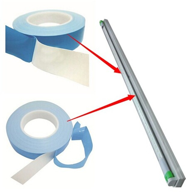 Easy To Assemble Double Face Adhesive Thermal Tape For Leds And Cooling Components