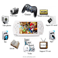 4.3inch TV OUT Smart Game Console For MP5 GAME PLAYER with free games download T820