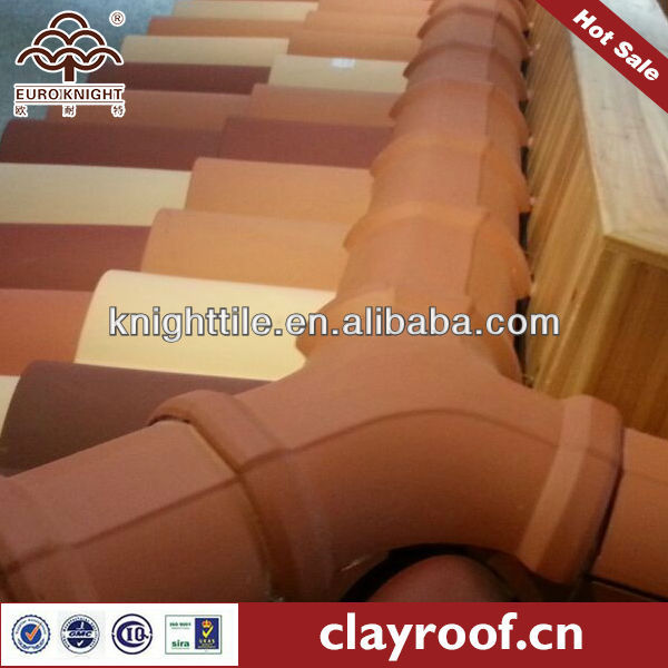 spanish red clay roof tile for villa and resort department
