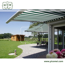 window folding arms retractable automatic awning