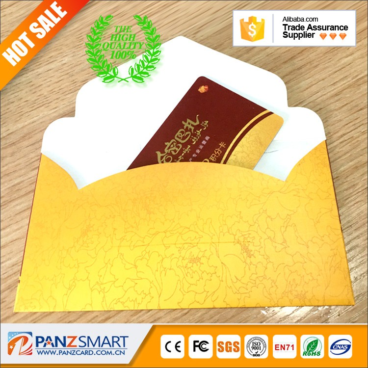 pvc gift card with logo magnetic stripe website contact number and email of card holder backer sleeve envelops