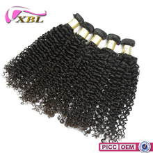XBL No Tangle Double Draw Remy Curly Wave Hair Extension Wholesale