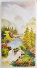 100 % handpainted museum quality decorative oil painting landscape