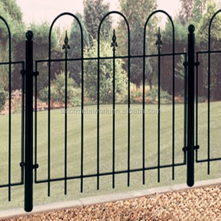wrought iron fencing suppliers metal stakes for fencing steel backyard fence panels