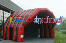 inflatable podium tent / inflatable stage marquee /podium stage tent for sale