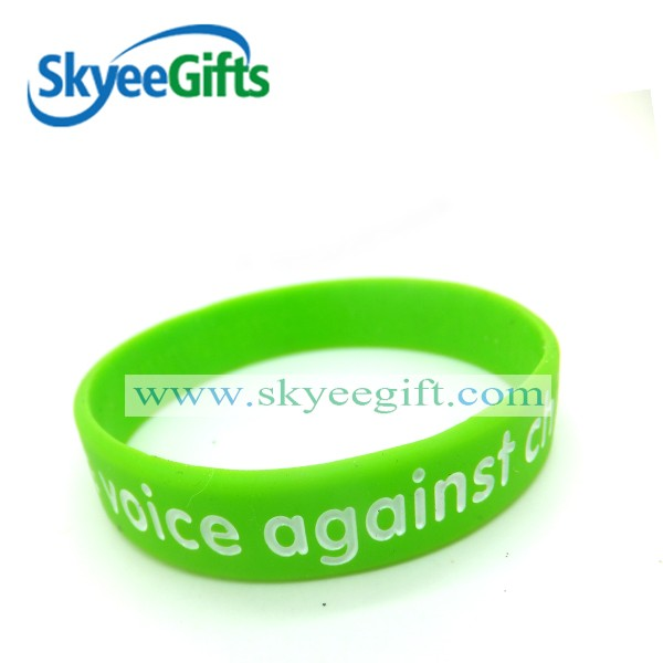 Cheap custom Best selling silicone wristbands with debossed silicone bands/ silicone bracelets