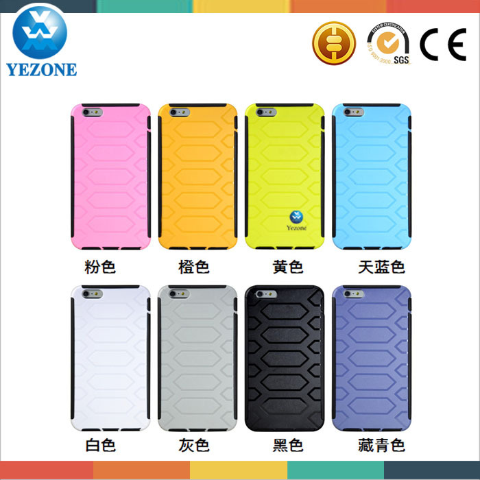 Factory Price Cell Phone Accessories For Iphone 6 Case, PC+TPU Case For Iphone 6 Back Cover Case, For Iphone 6 Case Cover