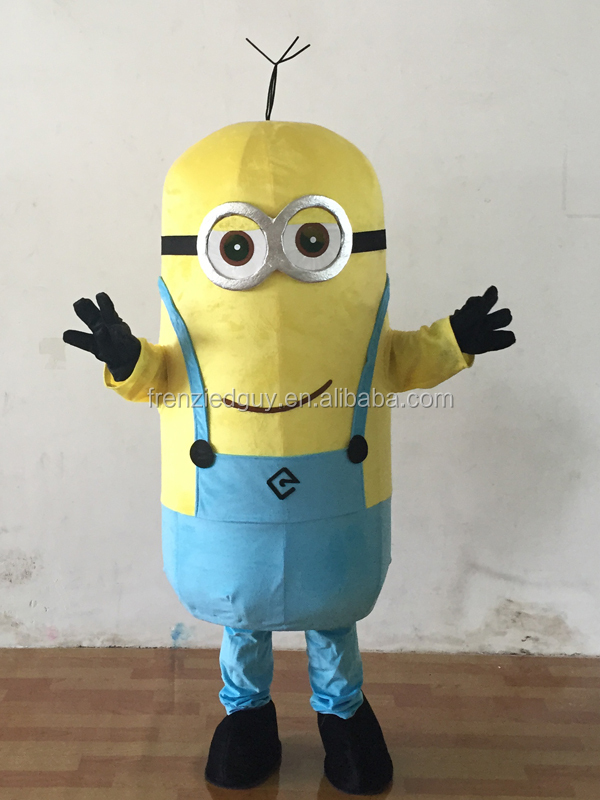 wholesale cosplay minion mascot costume for adult FGC-0036
