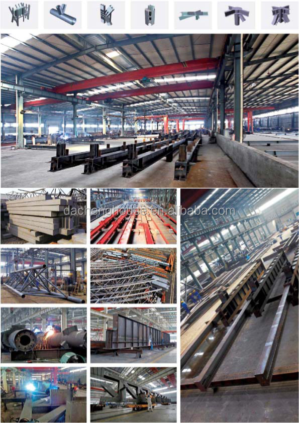 Chemial Industry Pre Engineered Light Steel Metal Structure Buildings