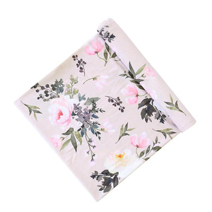 Ultra Soft 2 Layers Bamboo Muslin Blanket Special For Baby Swaddle Print Bamboo Muslin Swaddle