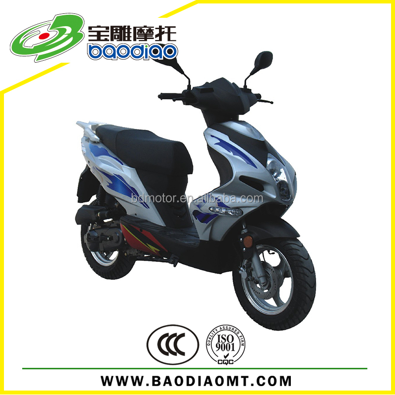 Baodiao New 50cc Chinese Motorcycles For Sale 50cc Engine Gas Scooters China Manufacture Motorcycle Wholesale