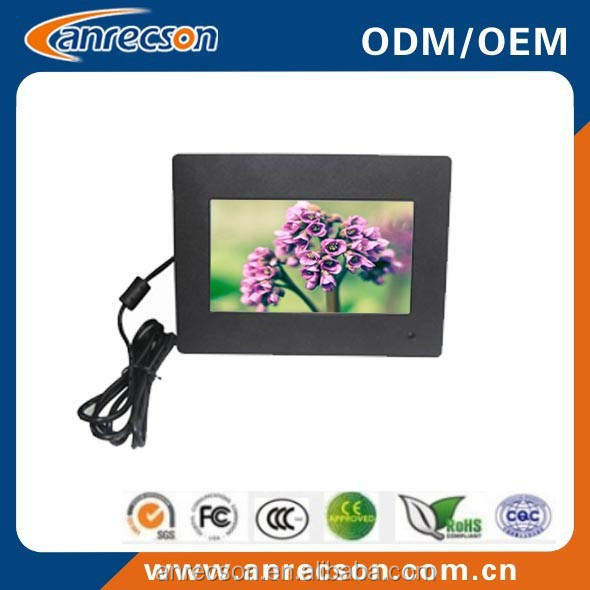 7 inch industrial grade LCD monitor for industrial machine