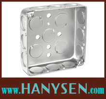 4*4 ,3*3 Steel Junction Box/ Square box