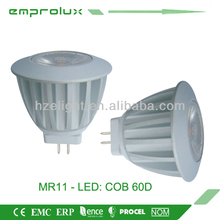 MR11 3W 60degree LED Spotlighting COB