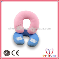 baby doughnut cushion made by polyester fabric for promotion toys
