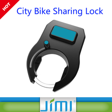Public bike share smart GPS bicycle lock remote control