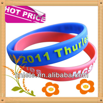 Promotional gift glow in the dark silicone bracelet,silicon wristband,glow bracelet