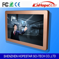Ultra thin 1080P 21.5 inch lcd IR usb multi touch screen monitor