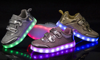 Wholesale Led Sneakers Flashing Lights Shoe Led Light Up Kids Shoes