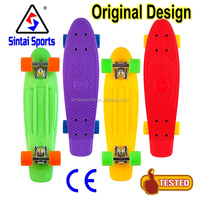 Almost Trucks 22 Inches Mini Complete Skateboard Plastic Cruiser Standard Skate Board