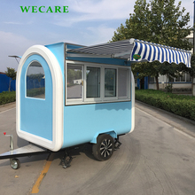 New design mobile catering trailer street food kiosk cart for sale