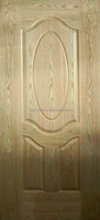 Veneer Faced MDF Moulded Door Skin