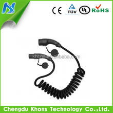 16A Single Phase Type 2 to Type2 EVSE Cable for EV Charging Station