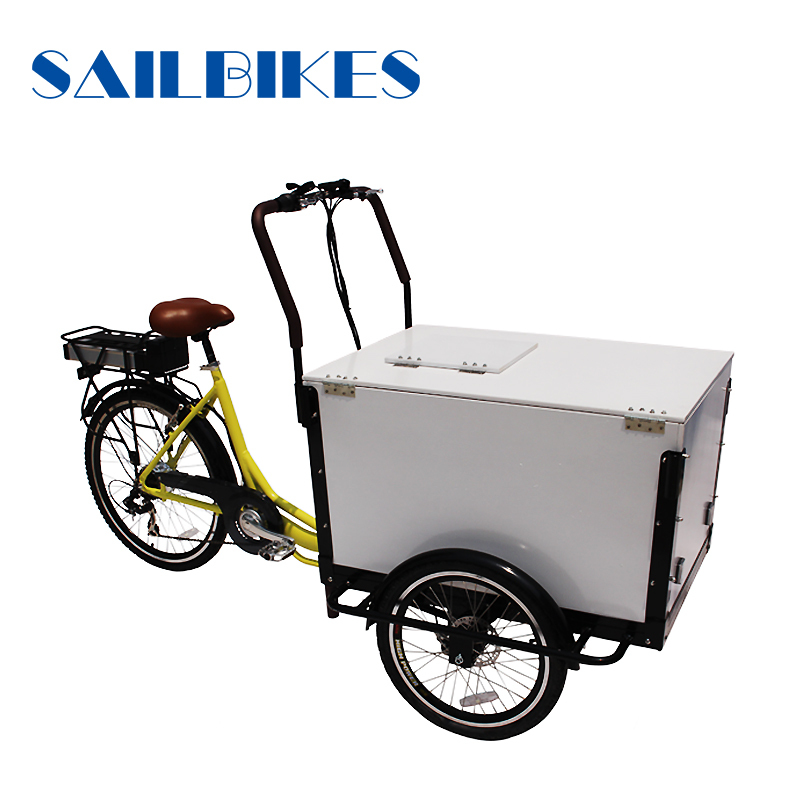 three wheel ice cream cargo bike for sale