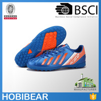 HOBIBEAR high quality children sport soccer shoes boys indoor football shose