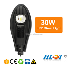 Tempered glass Cover 180w aluminium led street light shell with MEALL WELL Driver