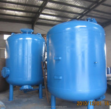 Large aquaculture automatic sand filter