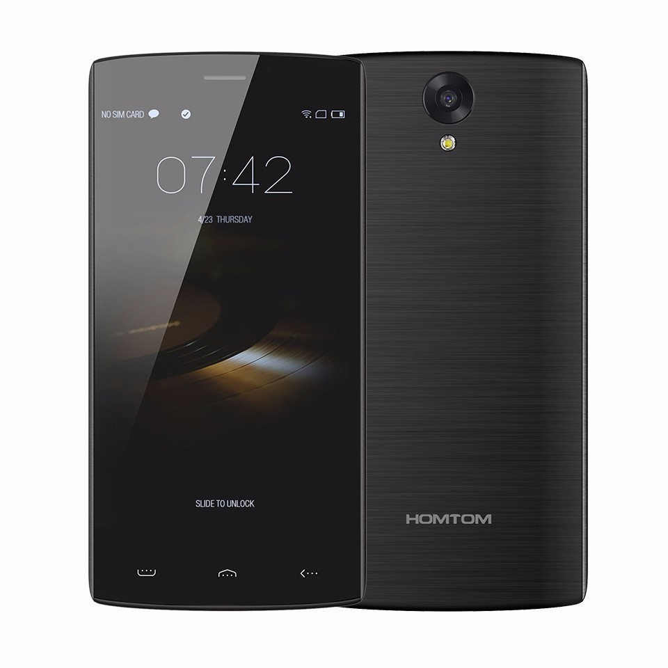 Original Homtom HT7 Pro Mobile Phone 5.5 Inch HD 2GB 16GB 4G LTE Smartphone 1280*720 Android 5.1 Quad core MTK6735 13MP 3000mAh