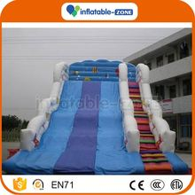 Top sale new happy inflatable water slides corkscrew inflatable water slide