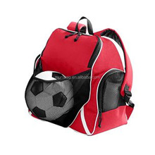 Wholesale School Child Student Soccer Sport Ball Bag Backpack With Balls Compartment