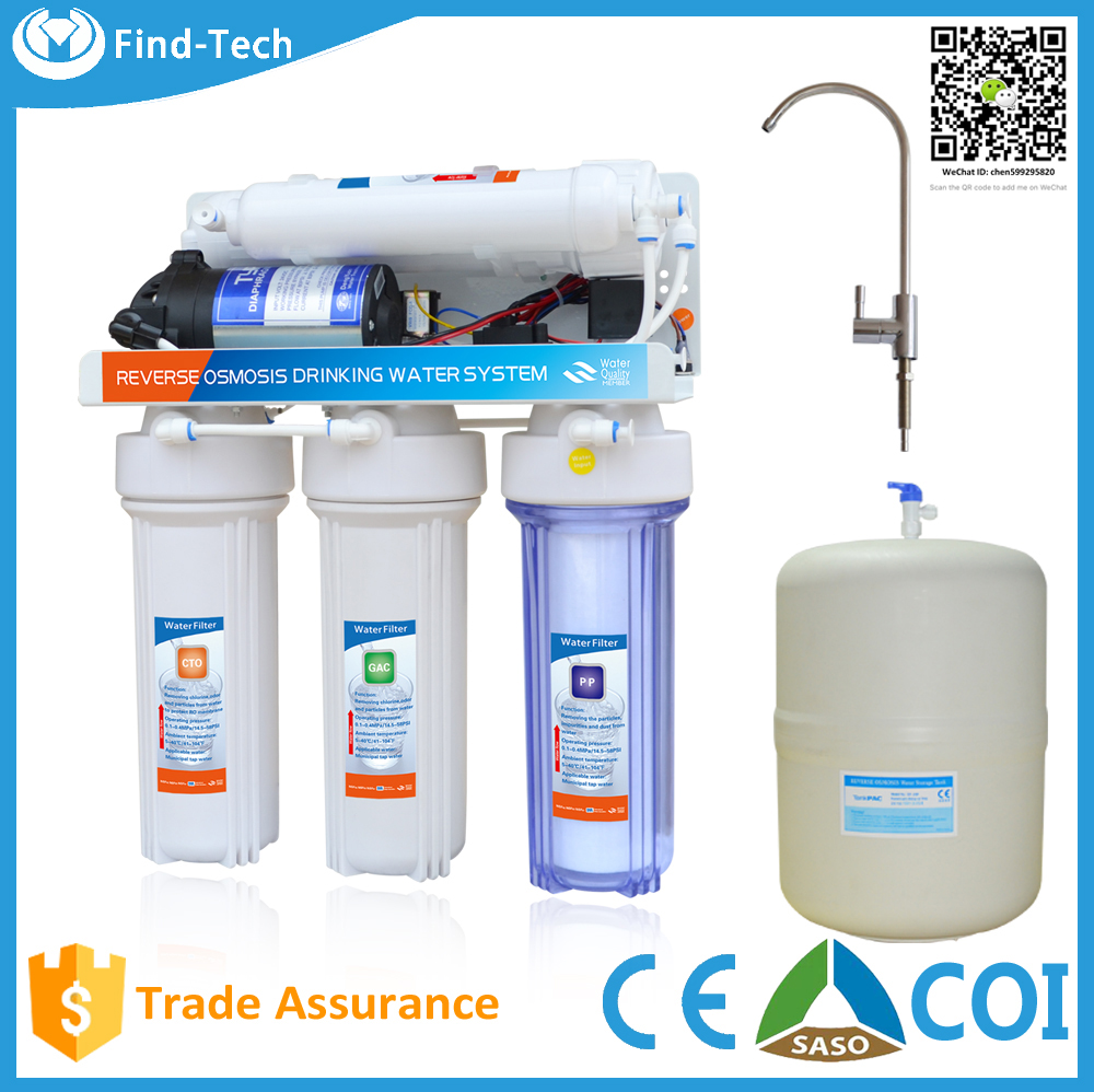 lowes water filter systems spare parts PP sediments+GACCTO+RO membrane+T33