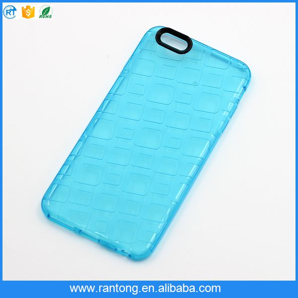 phone accessories ! New Candy color brief Transparent Mobile Phone case for iphone 6