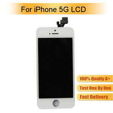 Double IC for AAA Grade tianma iphone 5 lcd, for iphone 5 lcd screen, for iphone 5 lcd digitizer replacement with best quality