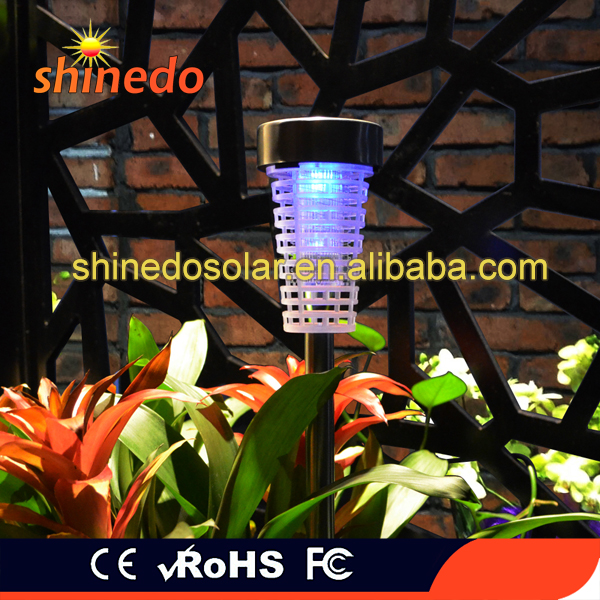 Effective Solar Mosquito Killer Insect Repellent with Led Lamp for Outdoors