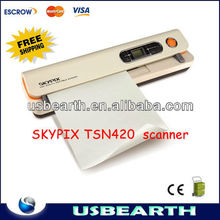 Hot high SKYPIX TSN420 Handyscan Portable handy mini printer Automatic Inhaled scanner ,document scanner