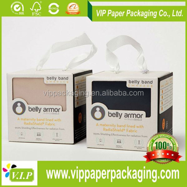 Boxes Decorative High Quality belly band packaging for gifts