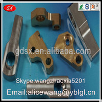 Customized precision lathe machined parts,folding machine spare parts,buffing machine parts,ISO9001 passed