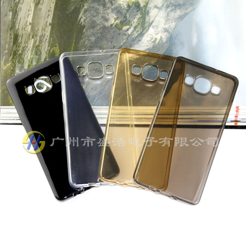 high quality ultra-thin smooth soft TPU cell phone/mobile cover/case for Samsung A5000 A5
