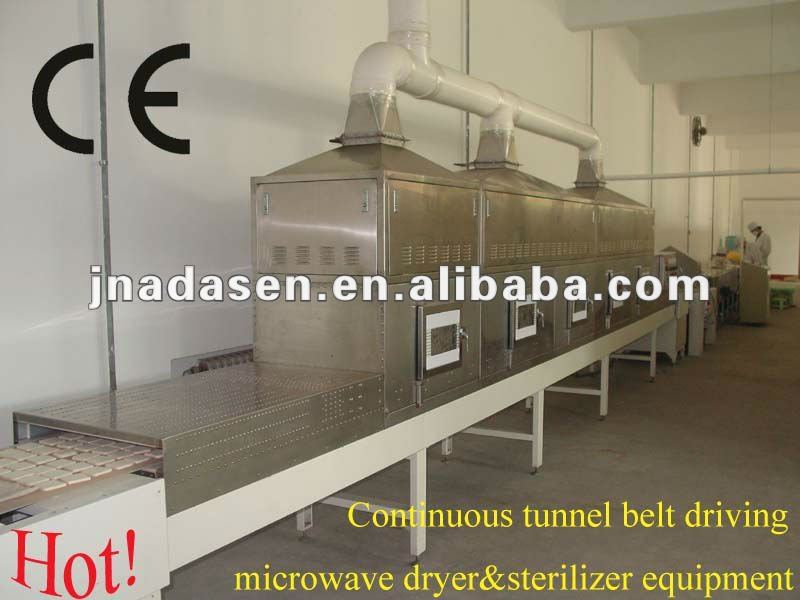 snack food drying sterilization machine