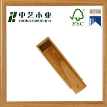 OEM ODM unique design hot sell competitive price reclaimed pine unfinished Wooden Brush Pencil Cases Boxes Plain Wooden Boxes
