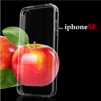 Soft Transparent TPU Blank Phone Case For Iphone SE Mobile Phone Case