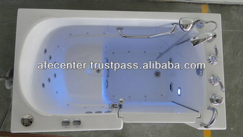 deep soaking walk in tub shower combo best walk in bathtub supplier in China 1