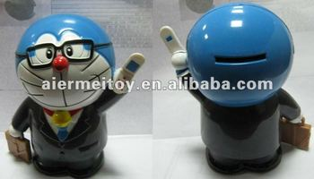 Promotional Custom Plastic Coin Bank